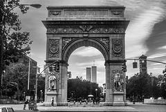 Washington Square Arch - 1986