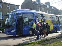 DSCF8783 Freestones Coaches (Megabus contractor) YN08 JBX in Cambridge - 10 Apr 2015