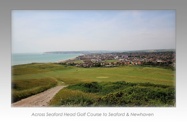 From Seaford Head to Newhaven  - 18.6.2015
