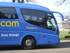 DSCF8781 Freestones Coaches (Megabus contractor) YN08 JBX in Cambridge - 10 Apr 2015