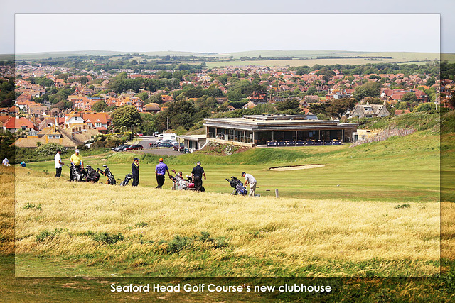 Seaford Head Golf Course Clubhouse - 18.6.2015