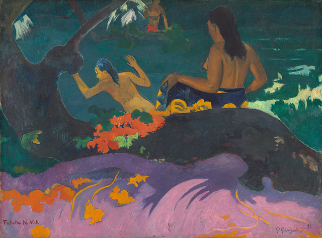 Paul Gauguin - Fatata te Miti (by the Sea)