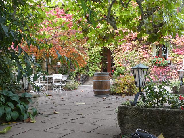 Gartenlokal in Forst/Deutsche Weinstraße