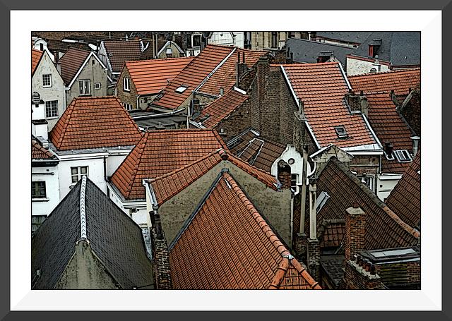 Les toits de Bruxelles VIII