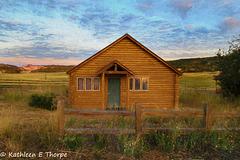Mount Zion Ranch Buffalo Cabin Topaz Filter