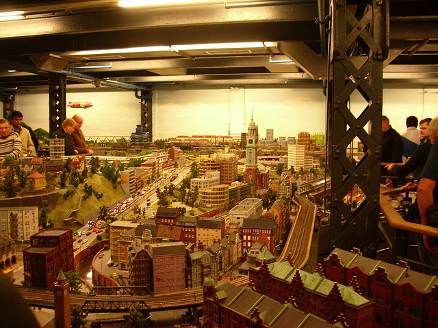 Hamburg - model trains