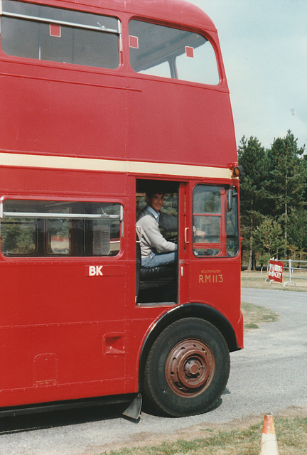 London RM113 (VLT 113) - 10 Sep 1989