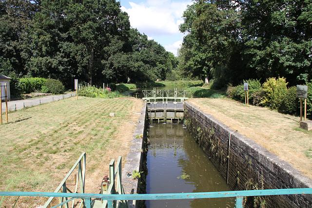 Canal de Nantes à Brest - écluse