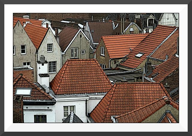 Les toits de Bruxelles IX