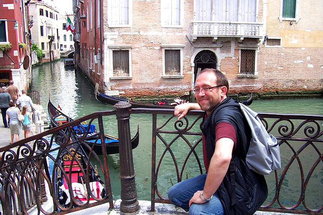 IT - Venice - me, somewhere between San Marco and Santa Maria Formosa