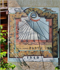 Valluise : houte Savoie - antica meridiana -  (983)