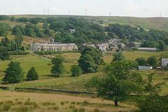 Hillside hamlet