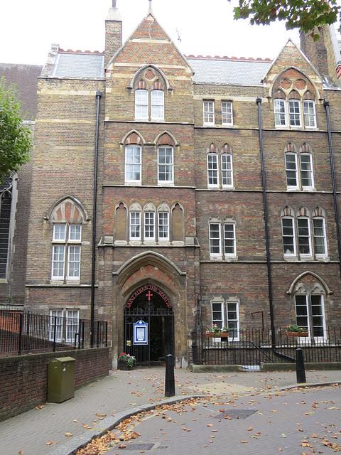 st alban holborn clergy house, london