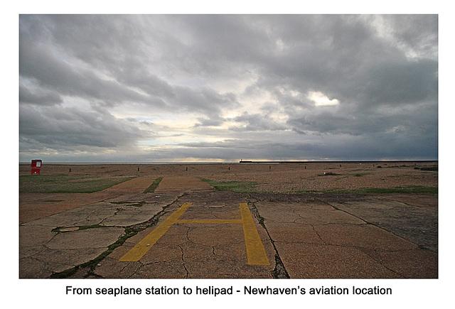 Seaplane station to helipad - Newhaven - 13.1.2016