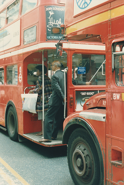 London Routemasters - 20 Jun 1987
