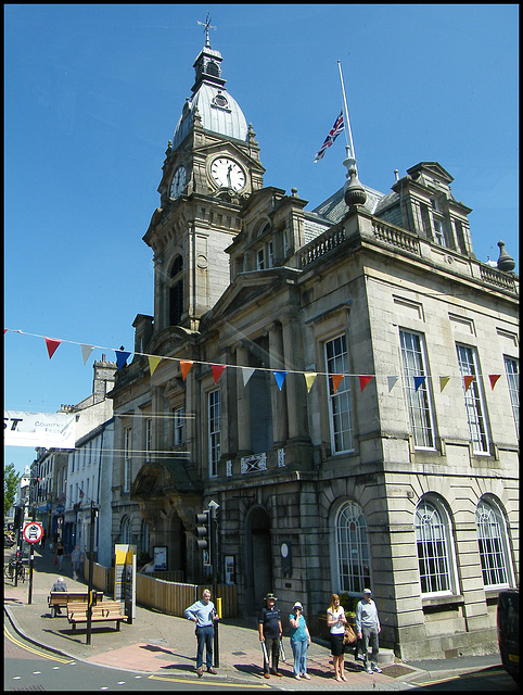 Kendal Town Hall clutter