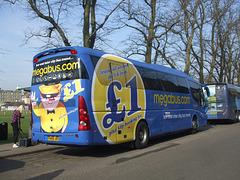 DSCF8777 Freestones Coaches (Megabus contractor) YN08 JBX in Cambridge - 10 Apr 2015