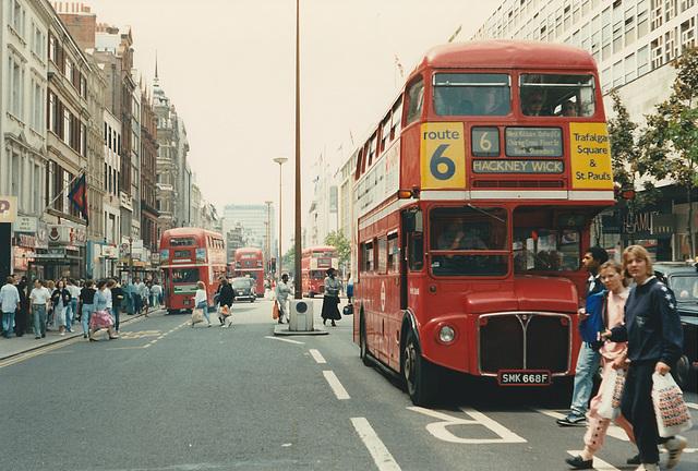 London RML2668 (SMK 668F) - 20 Jun 1987