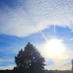 Sonne und Wolken am Nachmittag - suno laj nuboj posttagmeze