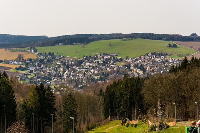 Blick auf Erdmannsdorf