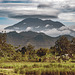 Gunung Agung volcano currently