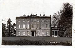 Elmdon Hall, Solihull, West Midlands (Demolished c1956)