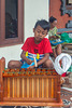 Gunggus learning Gamelan