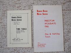 DSCF2061 Bamber Bridge Motor Service literature