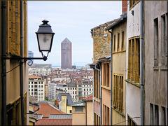 Lyon (69) 8 mai 2013. Depuis la Montée du Garillan.