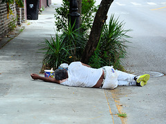 Menschen in New Orleans!
