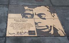SF Castro James Baldwin plaque (1225)