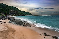 Pandawa Beach the other side