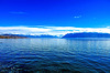 Bleu du lac, bleu du ciel