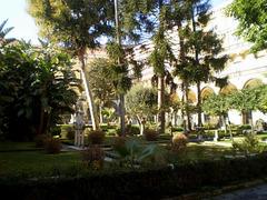 Cloister garden.