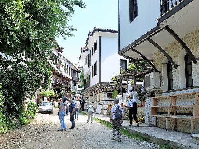 """""""Wiedergeburtshäuser"""" in Melnik, Bulgarien"""