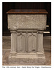 St Mary Eastbourne 14th century font18 10 2018