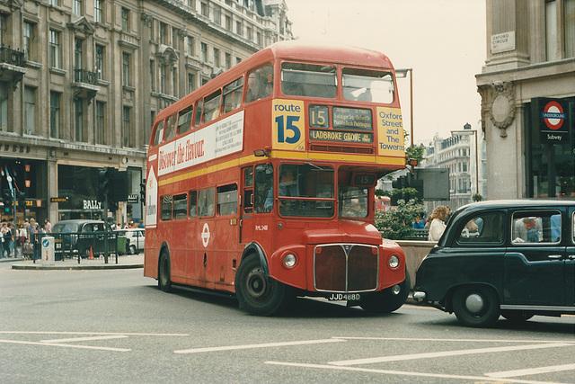 London RML2488 (JJD 488D) - 20 Jun 1987