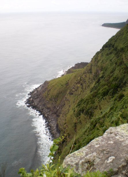 A view to Lopo Vaz Point.