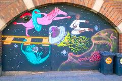 1 (16)...austria vienna...door with graffiti
