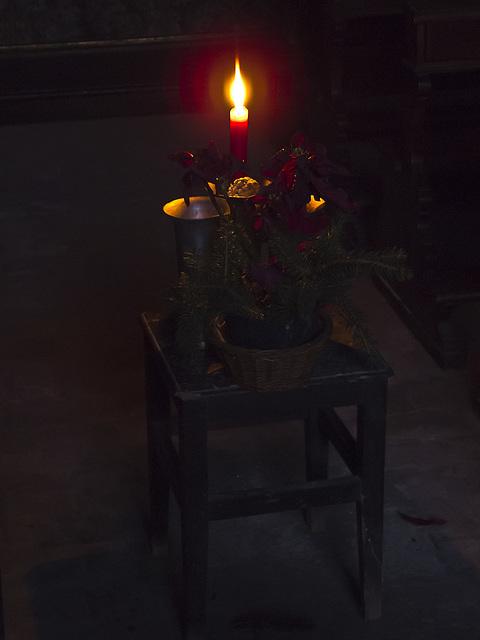 The light waves -  Oratory of Saint Rocco, Vernato Coast, Biella