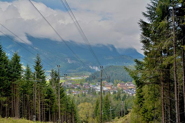 Blick zum Reutten-Tirol Österreich