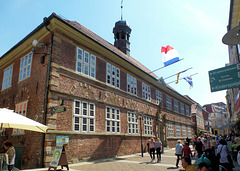 Stade- Altes Rathaus mit Ratskeller an der Hökerstrasse (PiP)