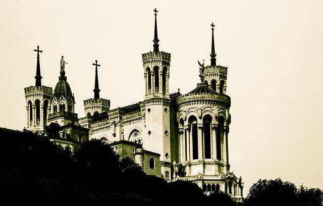 Lyon - Basilique Notre Dame de Fouvieres