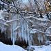 Eisorgelpfeifen im Eistobel