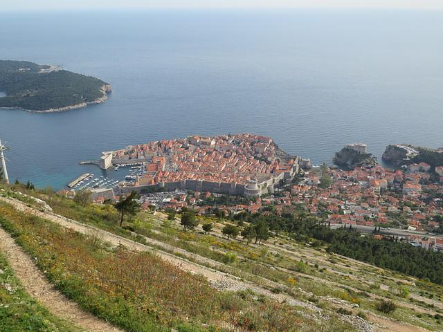 Belvédère sur Dubrovnik, 4.