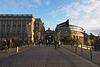 Blick auf Helgeandsholmen und Riksdagshuset
