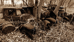 discarded rust....