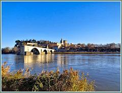 Le pont d'Avignon, The bridge of Avignon