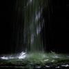 Sunlit waterfall, Ffrwdgrech, Wales