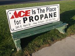 Ace bench / S'asseoir sur un as